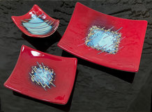 Fused Reactive Glass Plates